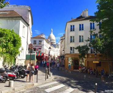 Montmartre Tepesi Pariste.Net