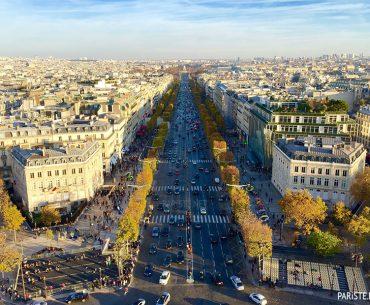 Şanzelize Bulvarı – Avenue des Champs-Elysées