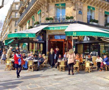 Les Deux Magots Cafe Pariste.Net