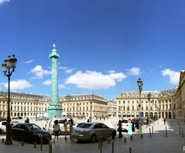 Place Vendome - Vendome Meydanı Pariste.Net