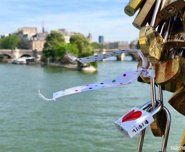 Pont des Arts - Aşıklar Köprüsü Pariste.Net