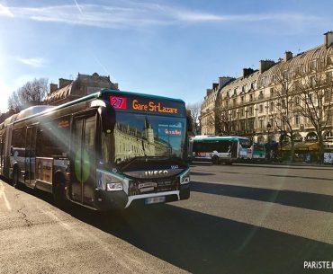 Belediye Otobüsleri - Paris Public Bus - RATP Pariste.Net