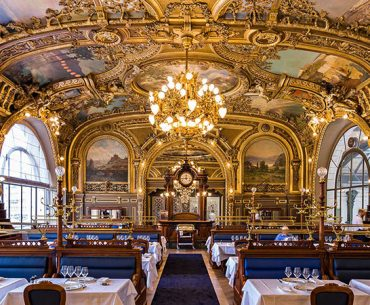 Le Train Bleu Restaurant Gare de Lyon Pariste.Net