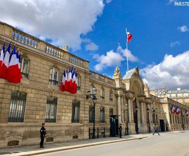 Palais de l'Elysée - Elysée Sarayı Pariste.Net