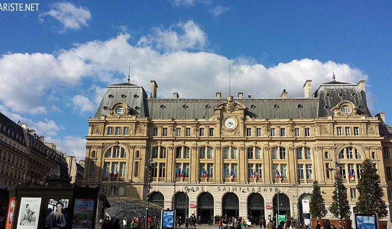 Gare Saint Lazare Pariste.Net