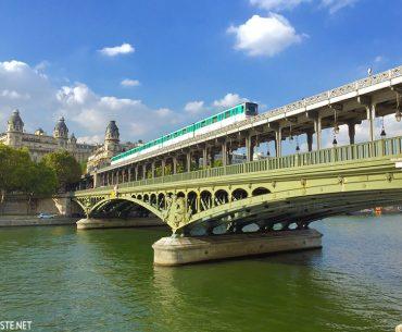 Bir Hakeim Köprüsü - Pont de Bir Hakeim - Bir Hakeim Bridge Pariste.Net
