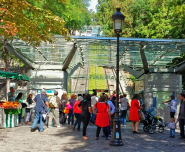 Montmartre Fünikuleri - Funiculaire de Montmartre Pariste.Net