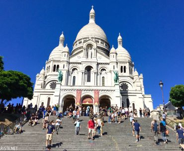 Sacre Coeur - Montmartre Tepesi Pariste.Net