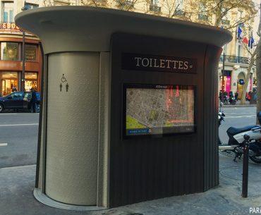 Paris Şehir Tuvaletleri - Toilettes W.C. Paris Pariste.Net