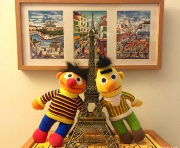 Cennette Üçüncü Yıl Pariste.Net Edi Büdü Eyfel Kulesi