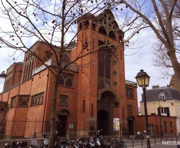 Montmartre Saint Jean Kilisesi - Eglise Saint Jean de Montmartre