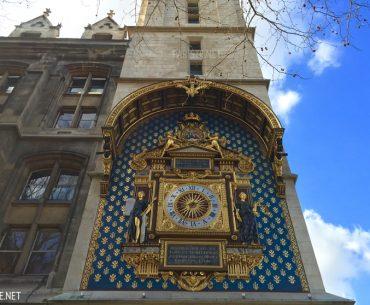 Paris'teki En Eski Meydan Saati: Horloge du Palais de la Cité