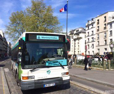 Paris'te Ulaşım 17: Montmartre Otobüsü - Montmartrobus