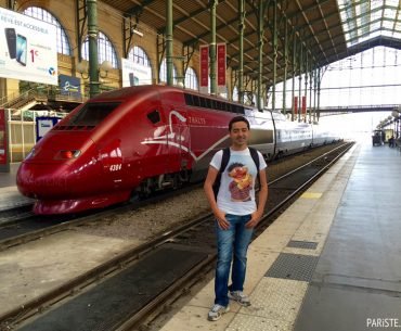 Thalys TGV Hızlı Tren Amsterdam Brüksel Pariste.Net Ahmet ORE
