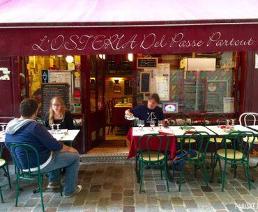 Saint Michel'de Keyifli Bir İtalyan Restoranı: L'Osteria Del Passe Partout