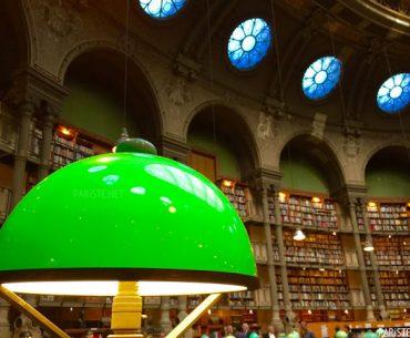Bibliothèque Nationale de France - Fransa Ulusal Kütüphanesi Richelieu Binası