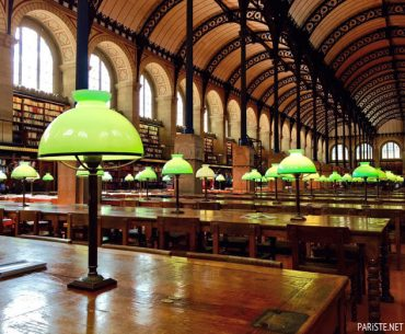 Sainte Genevieve Kütüphanesi - Bibliothèque Sainte Geneviève