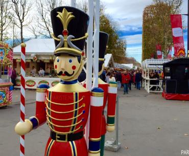 """Marché de Noël des Champs Elysées - """"Şanzelize"""" Noel Pazarı 2015"""