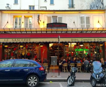 Montmartre'ta Sevimli Bir Restoran: Le Sancerre
