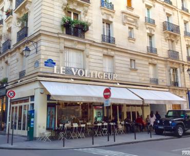 Marais'de Keyifli Bir Bistrot & Brasserie: Le Voltigeur