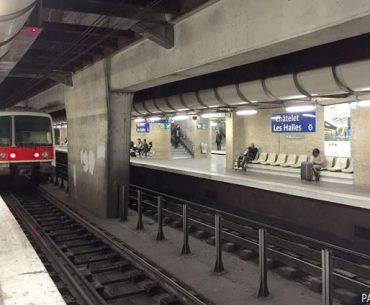 Paris'te Ulaşım - 21: Châtelet - Les Halles İstasyonu