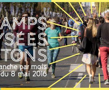 Champs-Elysées Bulvarı Ayda Bir Kez Yayaların