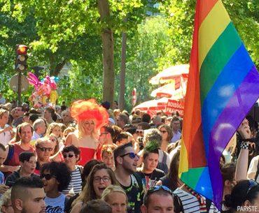Paris Onur Yürüyüşü - Marche des Fiertés - Gay Pride
