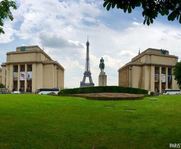 Trocadero Meydanı - Place du Trocadéro