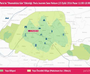 "Paris'te ""Otomobilsiz Gün"" - Paris Journée Sans Voiture (25 Eylül 2016)"