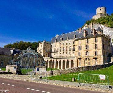 La Roche Guyon Şatosu - Chateau de la Roche-Guyon Pariste.Net
