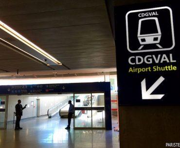 Paris'te Ulaşım 22: CDGVAL