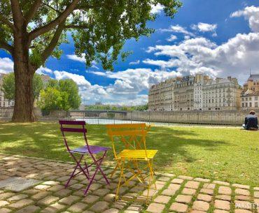 Seine Nehri Kıyısına Yürüyüş Alanı: Parc Rives de Seine