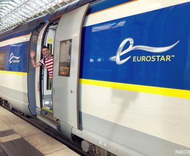 Eurostar Treniyle Paris - Londra Pariste.Net Ahmet ORE